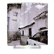 The Streets Of Cuzco Shower Curtain