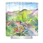 Cycling In Italy 05 Shower Curtain