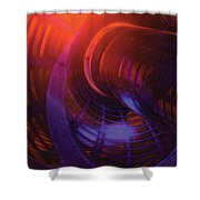 Cylinder And Torus No. 1 Shower Curtain