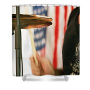 Cymbals Shower Curtain