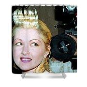 Cyndi Lauper 1988 Shower Curtain