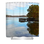 Cypres Reflections Shower Curtain
