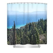 Cypress 2 Shower Curtain