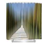 Cypress Alley Shower Curtain