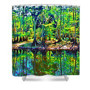 Cypress Coast Shower Curtain