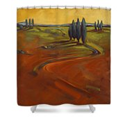 Cypress Hills 3 Shower Curtain