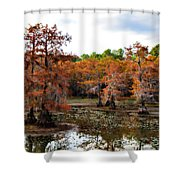 Cypress Isles Shower Curtain