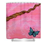 Cypress Wand Shower Curtain
