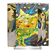 Cyprus And Aphrodite Shower Curtain