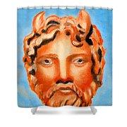 Cyprus - Zeus Shower Curtain