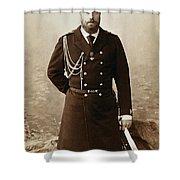 Czar Alexander IIi  Shower Curtain