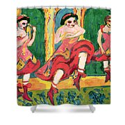 Czardas Dancers, 1908-20 Shower Curtain