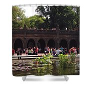 The Arches And The Fountain Shower Curtain