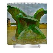 D-day Memorial For Juno Beach Heros Shower Curtain
