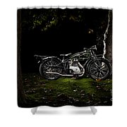 D-rad R04 In A Forest Shower Curtain