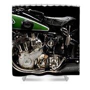 D-rad R11 Engine Shower Curtain