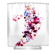D Wade Shower Curtain by Brian Reaves