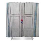 D1 - Door Shower Curtain
