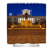 D13l112 Ohio Statehouse Photo Shower Curtain
