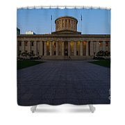 D13l83 Ohio Statehouse Photo Shower Curtain