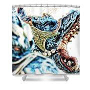 Da Dragon Comic IIacd Shower Curtain