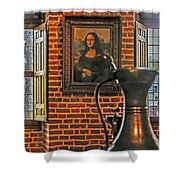 Da Vinci's Beauty Shower Curtain