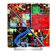Daas 17a Shower Curtain