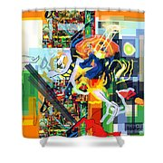 Daas 17i Shower Curtain