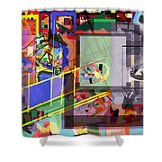 Daas 18 O Shower Curtain