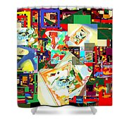 Daas 18b Shower Curtain