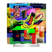 Daas 1c Shower Curtain