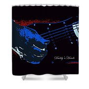 Daddy's Hands Shower Curtain