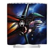 Daedalus Destroyer Shower Curtain
