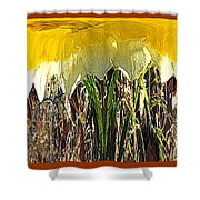 Daffy Three Shower Curtain