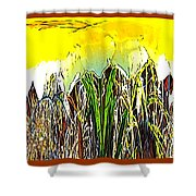 Daffy Two Shower Curtain