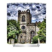Dagenham Village Church Shower Curtain
