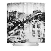 Daguerreotype, 1838 Shower Curtain