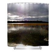 Dahler Lake In Emily Minnesota Shower Curtain