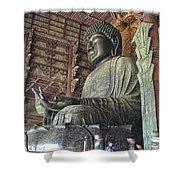 Daibutsu Buddha Of Todai-ji Temple Shower Curtain
