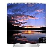 Daicey Pond Sunrise II Shower Curtain