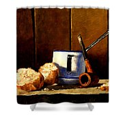 Daily Bread Ver 1 Shower Curtain
