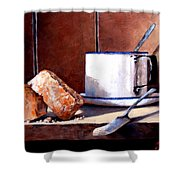 Daily Bread Ver 2 Shower Curtain