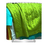 Daily Decisions Shower Curtain