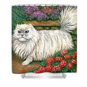 Dainty The Cat Shower Curtain