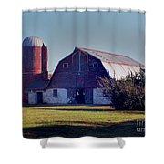 Dairy Barn Shower Curtain