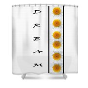 Daisies Dream Shower Curtain