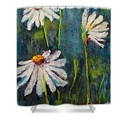 Daisies For Mom Shower Curtain