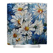 Daisy Cluster Shower Curtain