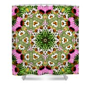 Daisy Daisy Do Kaleidoscope Shower Curtain