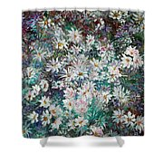 Daisy Dreamz Remix Shower Curtain